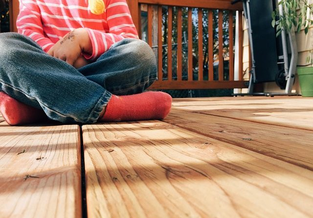 wood deck inspection