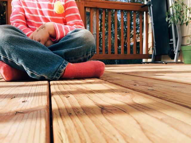 wood deck inspection